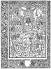 King Arthur & Knights. /Nking Arthur And His Knights At The Round Table. Woodcut From Walter Map'S 'Le Livre Des Vertueux Faix De Plusieurs Nobles Chevaliers,' Rouen, 1488. Poster Print by Granger Collection - Item # VARGRC0058083