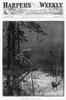 Deer Hunter, 1886. /N'Platform Deer-Shooting.' Engraving From The Front Page Of Harper'S Weekly, 6 February 1886. Poster Print by Granger Collection - Item # VARGRC0264550