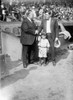 George H. Ruth (1895-1948). /Nknown As Babe Ruth. American Professional Baseball Player For The New York Yankees. Ruth (Right) With Bill Edwards And A Young Boy, 1924. Poster Print by Granger Collection - Item # VARGRC0121347