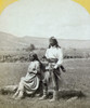 Apache Couple, C1873. /Na Young Apache Warrior And His Wife, Near Camp Apache, Arizona. Photograph By Timothy O'Sullivan, C1873. Poster Print by Granger Collection - Item # VARGRC0114249