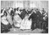 Social Dancing, 1873/N'The Last Galop.' Wood Engraving, English, 1873, After Frederick Barnard. Poster Print by Granger Collection - Item # VARGRC0089476