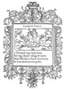 Cartouche, 1543. /Nwoodcut, French, 1543. Poster Print by Granger Collection - Item # VARGRC0076502