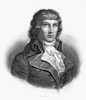 Louis De Saint-Just /N(1767-1794). Louis Antoine L_On De Saint-Just. French Revolutionary Leader. Steel Engraving, French, 19Th Century. Poster Print by Granger Collection - Item # VARGRC0070945