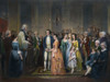 Washington: Marriage, 1759. /Nwashington'S Marriage To Martha Dandridge Custis, 6 January 1759. Lithograph After Junius Brutus Stearns, 1854. Poster Print by Granger Collection - Item # VARGRC0008765