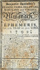 """Banneker'S Almanack, 1792. /Nthe Title-Page Of Benjamin Banneker'S """"Almanack"""" For 1792, Published In Baltimore. Poster Print by Granger Collection - Item # VARGRC0009338"""