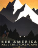 See America Poster, C1937. /Nunited States Travel Bureau Poster Promoting Tourism In Montana, C1937. Poster Print by Granger Collection - Item # VARGRC0173240