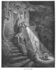 Perrault: Tom Thumb./Ntom And His Siblings Are Given Shelter By The Ogre'S Wife. Wood Engraving After Gustave Dor_ From 'Les Contes De Perrault, Dessins Par Gustave Dor_,' 1867. Poster Print by Granger Collection - Item # VARGRC0096500