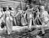 China: Boxer Rebellion. /Nsir Claude Macdonald Directing The Defense Of The British Legation At Peking, China. Drawing, 1900. Poster Print by Granger Collection - Item # VARGRC0034977