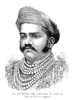 Sayajirao Gaekwad Iii /N(1863-1939). Maharaja Of Baroda, India, 1875-1939. English Portrait Engraving Published During His Visit To England, 1887. Poster Print by Granger Collection - Item # VARGRC0354545