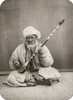 Musician, C1870. /Ncentral Asian Man Playing A Long-Necked String Instrument. Photograph, C1870. Poster Print by Granger Collection - Item # VARGRC0113670