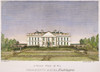 White House, D.C., 1820. /Nthe White House At Washington, D.C.. Engraving, 1820, After George Catlin. Poster Print by Granger Collection - Item # VARGRC0027726