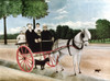 Rousseau: Cart, 1908. /Nfather Juniet'S Cart. Oil On Canvas By Henri Rousseau, 1908. Poster Print by Granger Collection - Item # VARGRC0033772