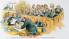 Litigation Cartoon. /Nan American Cartoon Of 1896 On The National Penchant For Litigation In The Courts. Poster Print by Granger Collection - Item # VARGRC0062125