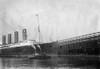 New York: Lusitania, 1908. /Nthe Cunard Steamship 'Lusitania' At New York Harbor, 20 November 1908. Poster Print by Granger Collection - Item # VARGRC0110570