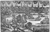 Boston, 1744. /Nview Of Boston. Copper Engraving By James Turner For The Title Page Of 'The American Magazine And Historical Chronicle, 1744. Poster Print by Granger Collection - Item # VARGRC0119614