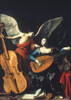 St. Cecilia And The Angel. /Noil On Canvas, C1600, By Carlo Saraceni. Poster Print by Granger Collection - Item # VARGRC0044940