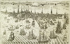 Boston: Revere Plan, 1774. /Nengraved View Of Boston, Massachusetts, By Paul Revere From The First Issue Of The 'Royal American Magazine,' January 1774. Poster Print by Granger Collection - Item # VARGRC0011228