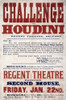 Harry Houdini (1874-1926). /Nnee Ehrich Weiss. American Magician. Poster Advertising An Appearance At The Regent Theatre In Salford, England. Lithograph, C1904. Poster Print by Granger Collection - Item # VARGRC0351389