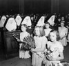 Easter, 1943. /Neaster High Mass At The Corpus Christi Church In The Polish Community In Buffalo, New York. Photograph By Marjory Collins, 1943. Poster Print by Granger Collection - Item # VARGRC0324162
