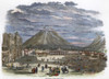 Guatemala City, 1856. /Nthe Valley City Of Guatemala In The Central Highlands. English Engraving, 1856. Poster Print by Granger Collection - Item # VARGRC0007643