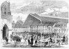 London: Fish Market, 1870. /Nthe Opening Of The Columbia Fish Market In Bethnal Green, London, England. Poster Print by Granger Collection - Item # VARGRC0087370
