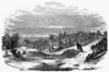 Sacramento: Cemetery, 1852. /Ncemetery At Sacramento, California. Wood Engraving, 1852. Poster Print by Granger Collection - Item # VARGRC0099265