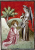 Saint John. /Njohn Worshipping Before The Angel: French Apocalyptic Manuscript, C1415, For Jean, Duke Of Berry. Poster Print by Granger Collection - Item # VARGRC0026281