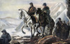 San Martin And O'Higgins. /Njose Francisco De San Martin (1778-1850) And Bernardo O'Higgins (1778-1842) Crossing The Andes Into Chile, February 1817. After A Painting. Poster Print by Granger Collection - Item # VARGRC0041025