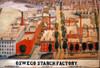 Oswego Starch Factory. /Nthe Oswego Starch Factory, Oswego, New York. Watercolor, C1877. Poster Print by Granger Collection - Item # VARGRC0022500