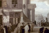 France: Bookstore, 18Th C. /Na Busy Bookstore On The Corner Of A French City Street. Oil On Canvas, Late 18Th Century. Poster Print by Granger Collection - Item # VARGRC0023466