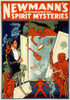 Magician Poster, C1911./Nlithograph Poster, C1911, Advertising The Magic Act Of George Newmann'S Wonderful Spirit Mysteries. Poster Print by Granger Collection - Item # VARGRC0116473