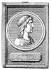 Lucius Apuleius /N(C124-C170 A.D.). North African Philosopher And Rhetorician. Line Engraving, C1800, After An Ancient Medallion. Poster Print by Granger Collection - Item # VARGRC0082635