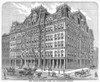 Chicago: Singer Building. /Nthe New Singer Building, State And Washington Streets, Chicago, Illinois. Wood Engraving, American, 1878. Poster Print by Granger Collection - Item # VARGRC0101183