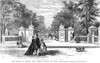 Nyc: Central Park, 1867. /Nwood Engraving. Poster Print by Granger Collection - Item # VARGRC0034336