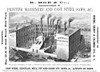 New York: Factory, 1855. /Namerican Wood Engraving Advertisement, 1855. Poster Print by Granger Collection - Item # VARGRC0037087