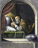 Scholar, 17Th Century. /Nsteel Engraving, 19Th Century, After A Painting By Frans Van Mieris (1635-1681). Poster Print by Granger Collection - Item # VARGRC0106955