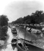Bangkok: Canal Boats, 1928. /Na View Of Boats On A Canal In Bangkok, Thailand. Photograph, 1928. Poster Print by Granger Collection - Item # VARGRC0118486