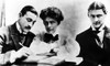 Barrymore Siblings, 1904. /Namerican Actors, Ethel, John And Lionel Barrymore, Photographed 1904. Poster Print by Granger Collection - Item # VARGRC0106591