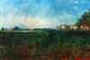 Van Gogh: Landscape, 1888. /Nvincent Van Gogh: Landscape Near Arles. Oil On Canvas, 1888. Poster Print by Granger Collection - Item # VARGRC0030016