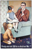 World War I: Poster, 1915. /N'Daddy, What Did You Do In The Great War.' British World War I Poster By Savile Lumley, C1915 Poster Print by Granger Collection - Item # VARGRC0064197