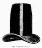Chimney-Pot Hat, C1850. /Nfashionable C1850. Line Engraving, English, C1900. Poster Print by Granger Collection - Item # VARGRC0093323