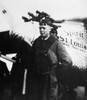 Charles A. Lindbergh /N(1902-1974). American Aviator. Lindbergh And The 'Spirit Of St. Louis' Shortly Before Taking Off From Roosevelt Field, New York, For Paris, France, On 20 May 1927. Poster Print by Granger Collection - Item # VARGRC0259939