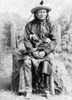 Sioux Chief, C1891. /Nyoung Man Afraid Of His Horses (1830-1900), An Oglala Sioux Native American Chief. Photographed By Charles Milton Bell, C1891. Poster Print by Granger Collection - Item # VARGRC0118261