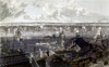 New York: East River, 1837. /N'New York From Brooklyn Heights.' Aquatint By J.W. Hill, 1837. Poster Print by Granger Collection - Item # VARGRC0102767