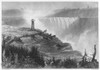Niagara Falls, 1837. /Nengraving And Etching, English. Poster Print by Granger Collection - Item # VARGRC0000086