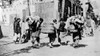 China: Rag-Pickers, C1920. /Nrag-Pickers Carrying Bundles Of Rags Down The Street In China. Photograph, C1920. Poster Print by Granger Collection - Item # VARGRC0116011
