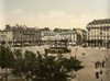 France: Lorient, C1895. /Nplace Alsace In Lorient, France. Photochrome, C1895. Poster Print by Granger Collection - Item # VARGRC0116842
