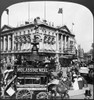 London: Piccadilly Circus. /Nview Of Piccadilly Circus, London, England. Stereograph, C1909. Poster Print by Granger Collection - Item # VARGRC0111539