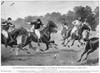 England: Polo, 1902. /Nsecond Of The International Polo Matches At Hurlingham, England, 9 June 1902. Contemporary Drawing. Poster Print by Granger Collection - Item # VARGRC0056968