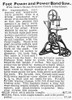 Band Saw, 1895. /Nband Saw As Advertised In A Montgomery Ward Catalogue, 1895. Poster Print by Granger Collection - Item # VARGRC0001579
